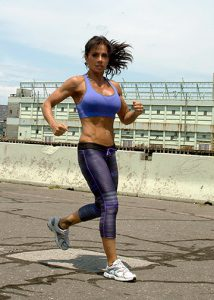 Meral Ertunc maintains a healthy lifestyle